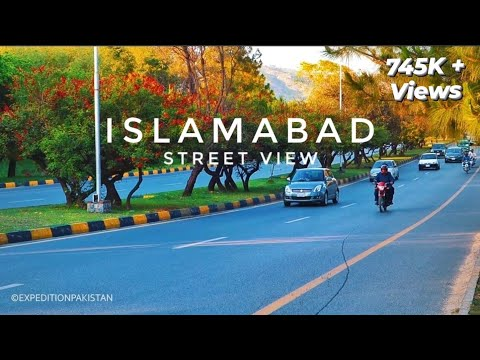 ISLAMABAD City Street View - Expedition Pakistan