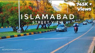 ISLAMABAD City Street View (April 2019) - Expedition Pakistan Video