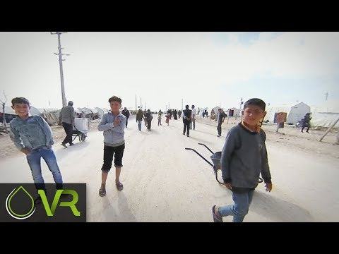 Life in the Urfa Refugee Camp | MAA | VR 360