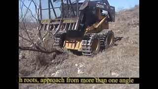 Grub-N-Rake® Skid Steer Attachment for Grubbing and Land Clearing More Efficiently