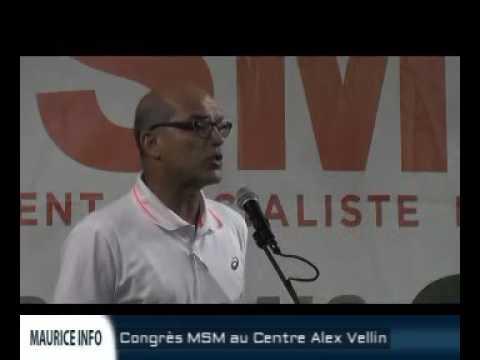 Congrès MSM à Beau Bassin