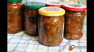 Грибы в томатном соусе на зиму