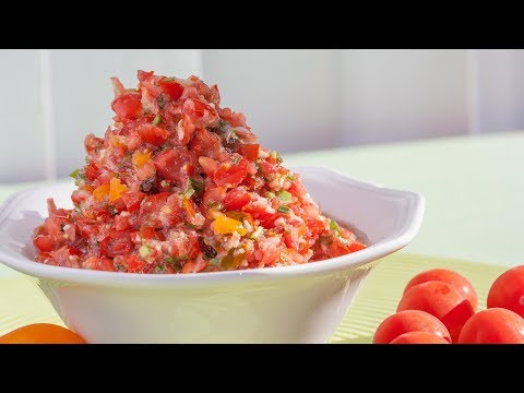 How To Make A Cherry Tomato Salsa Recipe