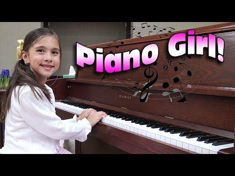 PIANO GIRL! Jillian's Piano Recital 2016