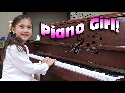 PIANO GIRL! Jillian's Piano Recital 2016