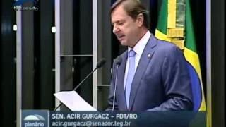Acir Gurgacz (@acirgurgacz) presta solidariedade às vítimas de tornado em Santa Catarina