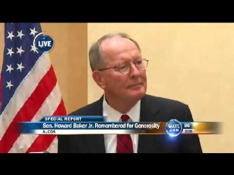 Sen. Lamar Alexander Speaks on Howard Baker