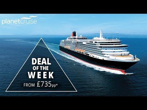 10 Night Luxury Mediterranean Cruise - Queen Victoria | Planet Cruise Deals of the Week
