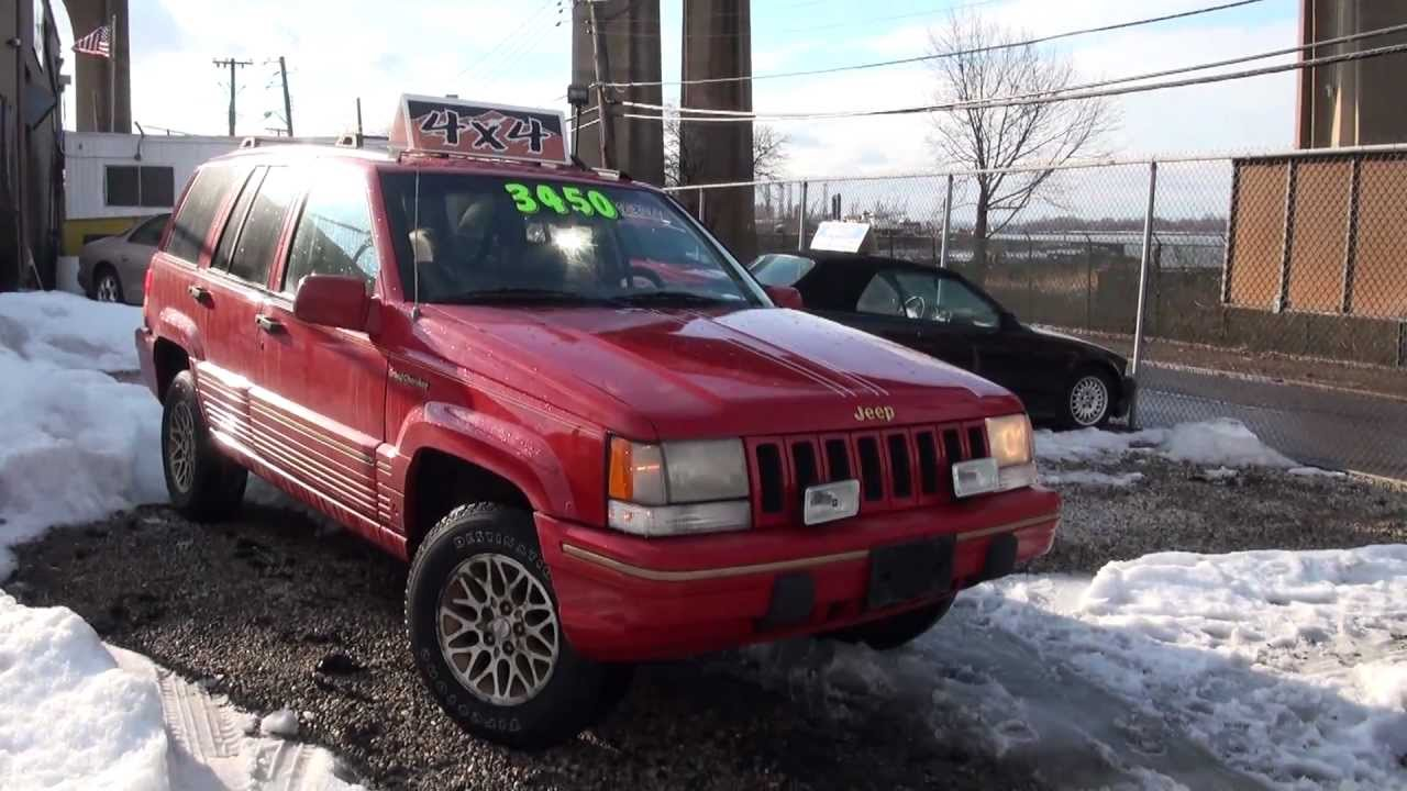 1993 jeep grand cherokee limited youtube. Black Bedroom Furniture Sets. Home Design Ideas