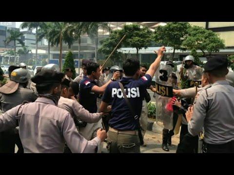 Aksi Demonstrasi Mahasiswa Papua Di Jakarta