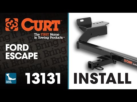 Trailer Hitch Install: CURT 13131 On A Ford Escape