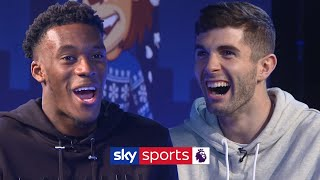 How many Chelsea teammates can Hudson-Odoi name in 30 seconds  Lies  Hudson-Odoi vs Pulisic
