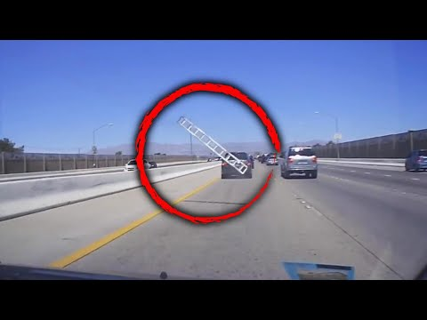 Lance Houston - Car Runs Over Ladder on Highway
