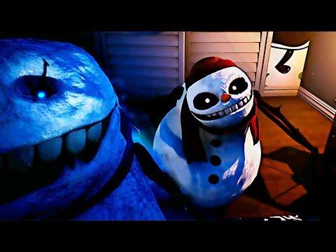 SNOWMAN VIENE A POR TI | FROSTY NIGHTS (DEL CREADOR DE BOOGEYMAN) Gameplay Español