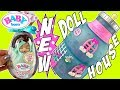 Baby Born Surprise Dollhouse + EXCLUSIVE BABY DOLL For Baby Born Doll House!!