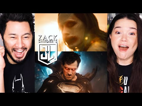 ZACK SNYDER'S JUSTICE LEAGUE | Official Trailer | HBO Max | Reaction by Jaby Koay & Achara Kirk!