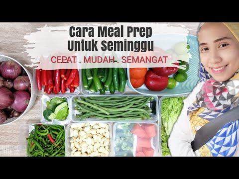 urus-dapur-|-cara-meal-prep-sayur-&-protein-|-mudah-kerja-untuk-seminggu-|-motivasi-isteri-🇲🇾