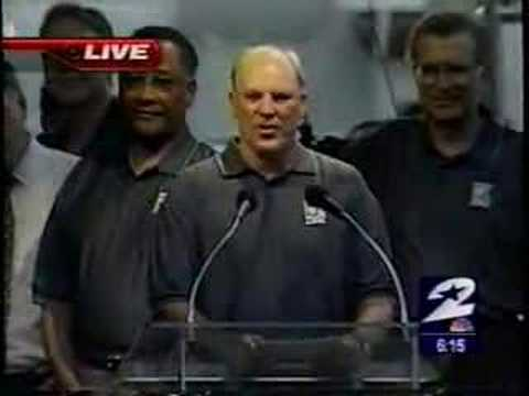 Texans History: Sep 6, 2000 Name and Logo Unveiling