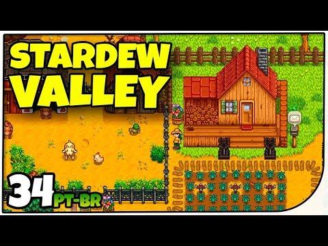 Stardew Valley #34 - CAFÉ AUTOMÁTICO - Gameplay em Português PT-BR