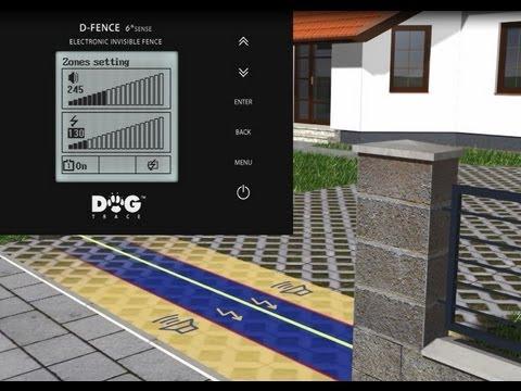 Gemeinsame Dogtrace - Unsichtbarer elektronischer Hundezaun d-fence 2002 @PG_93