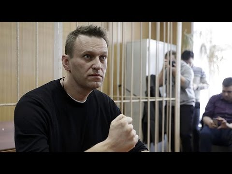 Russian opposition leader Alexei Navalny is jailed for 15 days