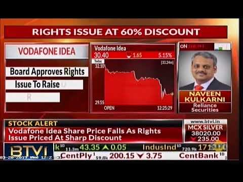 Mr. Rajan S Mathews, DG COAI On Vodafone Idea Approving Rights Issue | BTVi