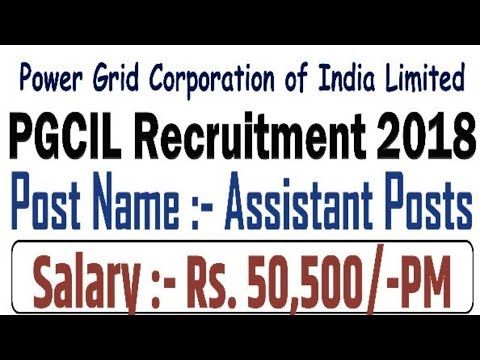 Power Grid Corporation Recruitment 2018 | Latest May Job | All over India