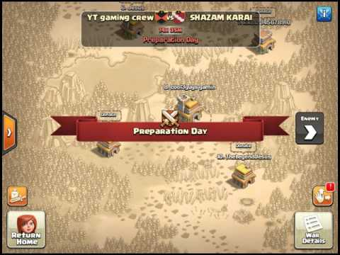 Clash of clans rushing my base, UPGRADING GOLD STORAGES