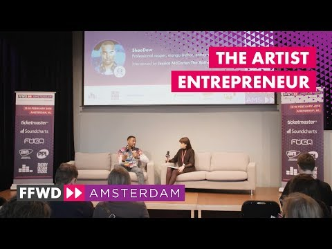 """The Artist Entrepreneur"" with ShaoDow | FastForward 2018"