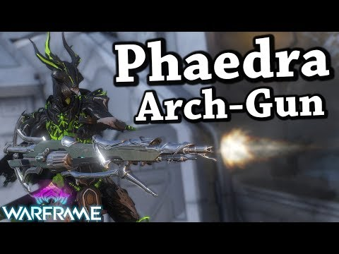 Warframe Phaedra (2 Forma Build) Atmosphere Arch-Gun thumbnail