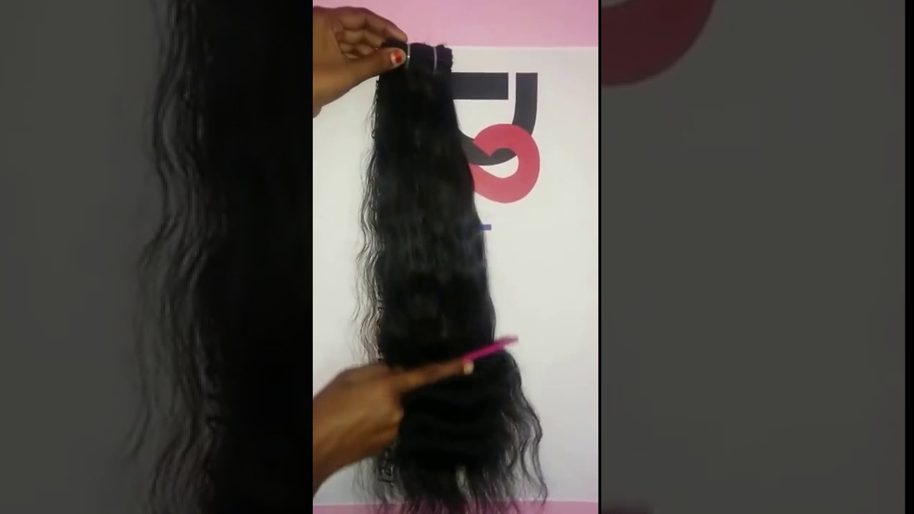 First Lady Human Hair Weave On Chennai Hair Trade Youtube