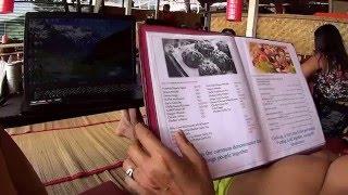 IHL218. Гоа. Арамболь. Кафе на берегу с вай фай, сколько стоит пообедать не вегетарианцу