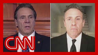 Gov. Andrew Cuomo addresses brother Chris' coronavirus diagnosis