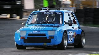 Little Proto P2 Cars w/ Motorbike Engines Racing on Track - Twingo, Fiat 126, X1/9 & More!!