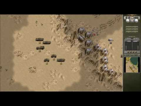 Let's Play Panzercorps Allied Corps- 1940 Desert Campaign Medenine