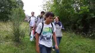 Урок на природе 'Осенний марафон' школы СОлНЦе!