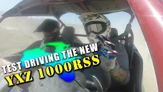 2017 yxz1000rss review riding at glen helen race track
