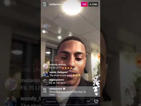 Keith Power's Instagram Live 03-18-17