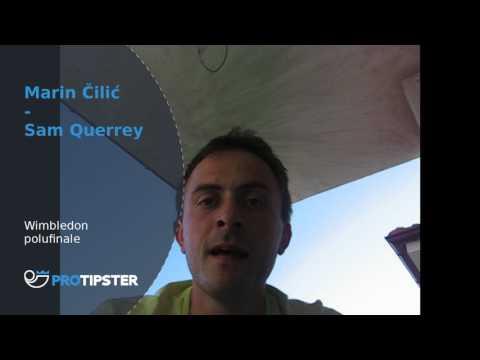 Tip dana - Wimbledon - Marin Čilić - Sam Querrey