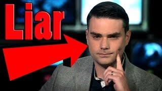 Ben Shapiro Caught Lying...Again!