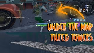 *NEW* EASY UNDER THE MAP TILTED TOWERS IN 5 SECONDS (Fortnite Glitch)