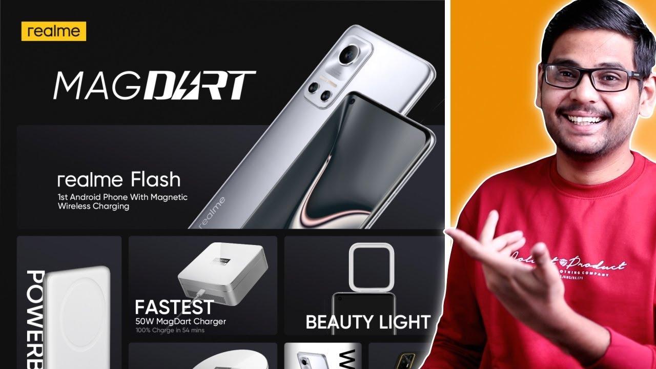 Realme MagDart - Magnetic Charging Explained! Realme Flash