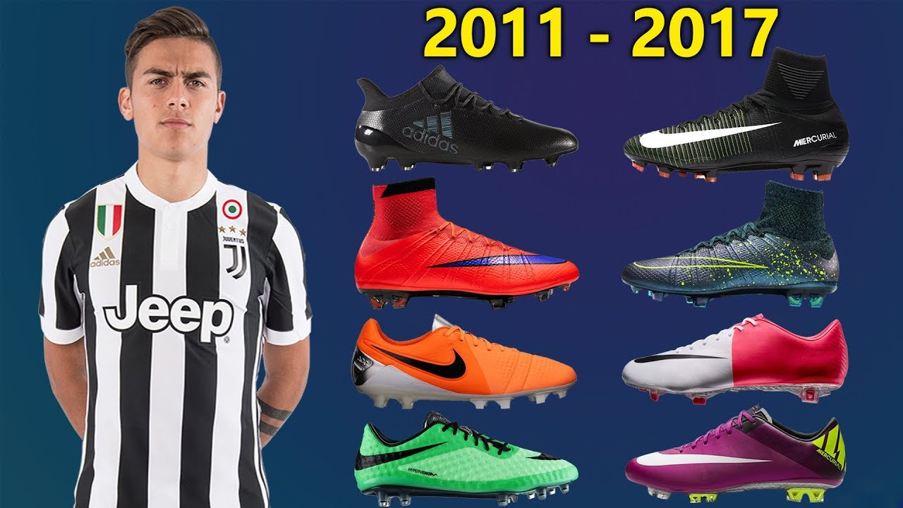 gymnastikskor köpa bäst super kvalitet Paulo Dybala - New Soccer Cleats & All Football Boots 2011-2017 ...