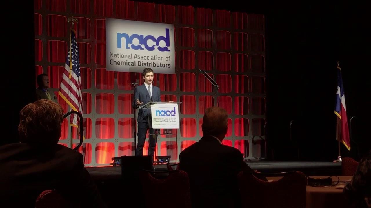 Aidan Blum Speaks to Industry Members 2017