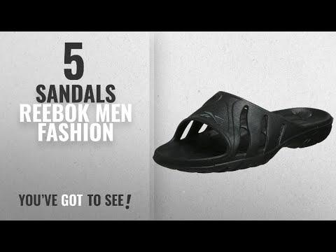 Top 10 Sandals Reebok [Men Fashion Winter 2018 ]: Reebok Men's Kobo Iv Sandal,Black/Carbon,7 M
