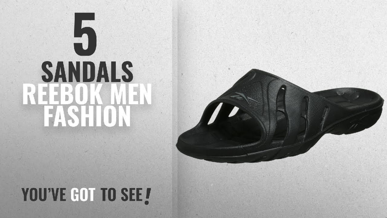 fairer Preis 100% authentisch Stufen von Top 10 Sandals Reebok [Men Fashion Winter 2018 ]: Reebok Men's Kobo Iv  Sandal,Black/Carbon,7 M