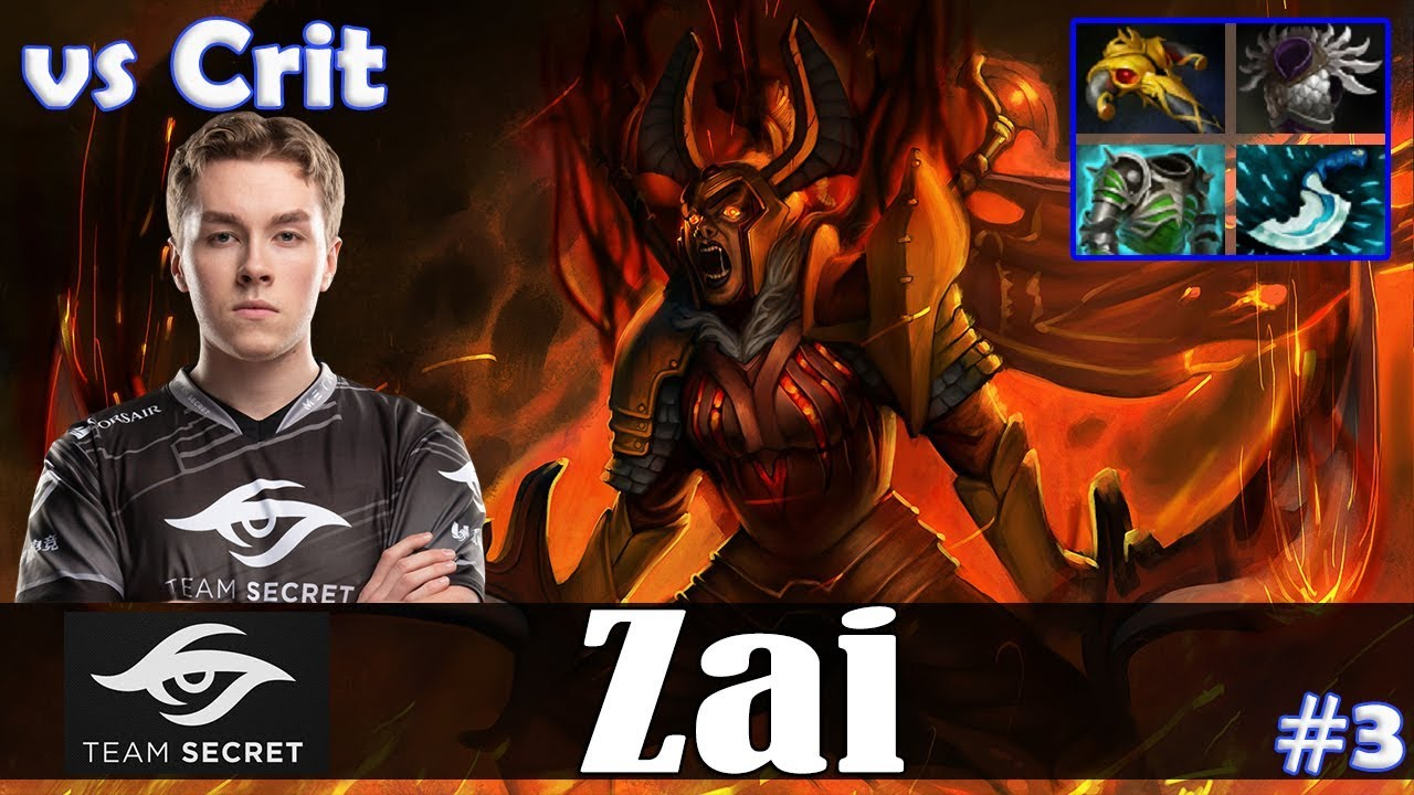 zai – Legion Commander Offlane | vs Crit (Zeus) | Dota 2 Pro MMR Gameplay #3