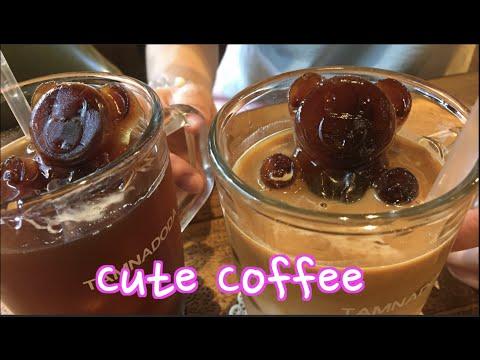 Bear Coffee in Seoul with Woojong