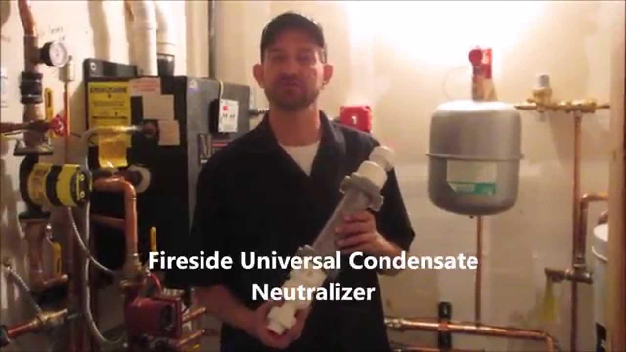 Condensate Neutralizer Installation Youtube