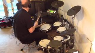 AC/DC - Hard As A Rock (Roland TD-12 Drum Cover)